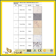 SGS Vein Man-Made Quartz Stone Bathroom Tile with Cheap Price