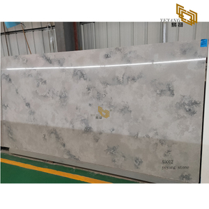 Polished quartz stone tiles quartz bathroom tiles quartz slabs wholesale(A5012)
