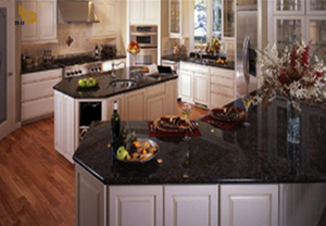 Black Galaxy Granite Countertop Project -YEYANG STONE FACTORY