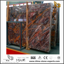 Agate Red Marble for Kitchen Background(YQN-083002)