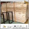 beige travertine stone with yellow onyx vein for wall and bar