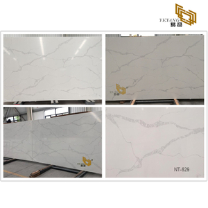 Beautiful quartz slab for kitchen countertops design wall tile backsplash nt-629