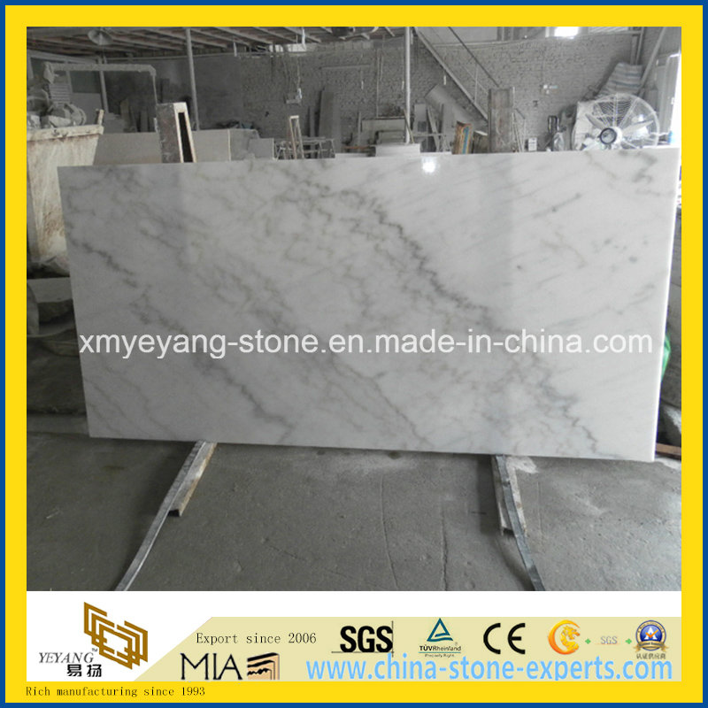 Chinese Guangxi White Marble Slab for Bathroom Floor or Wall