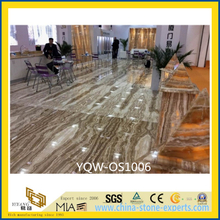 Polished Yellow Tara Onyx Stone Slabs for Floor (YQW-OS1006)