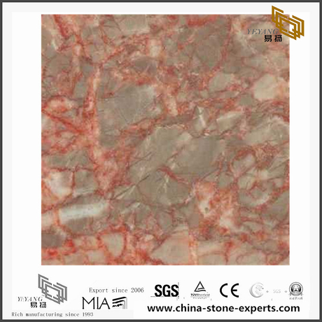Agate Red Marble for Wall Backgrounds & Floor Tiles(YQN-092003)