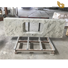 Natural white granite countertops andromeda granite tiles factory wholesale
