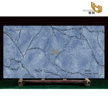 Blue quartz calacatta artificial stone slabs kitchen countertop (A5022)