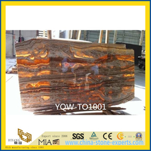 Polished Red Onyx Stone Tile for Wall, Backsplash, Background