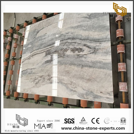 Fancy Vemont Gray Stone Marble for Wall Backgrounds & Floor Tiles (YQW-MS090708)