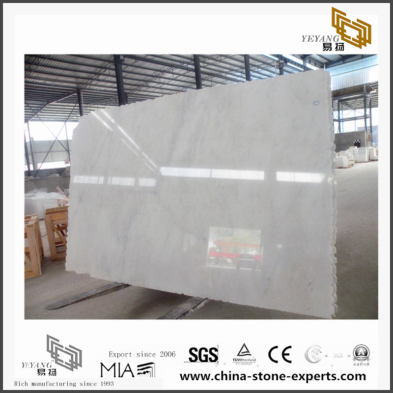 Oriental White marble used in the kitchen, bathroom, living room wall/floor(YQN-090905)