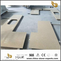 Yellow / Beige Quartz Laminate Counter Tops / Benchtops / Vanity Tops