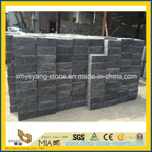 Natural Black Basalt Wall Brick for Landscape Engineering