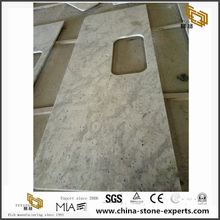 Andromeda White Granite Stone Kitchen Countertops Worktops