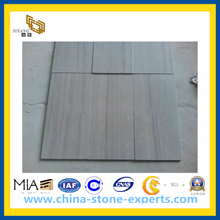 Athen Wood Stone Marble Flooring Tiles for Decorating Material(YQC)