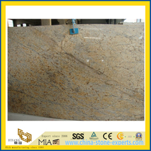 Chinese Polished Golden Flower Marble Slab
