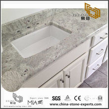 Buy Discount Andromeda White Granite Counter top for Bathroom (YQW-GC0714019)