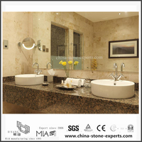Quality Natural Baltic Brown Granite Vanity tops for Bathroom,Hotel (YQW-GC06051909)