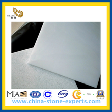 China Pure Crystal White Marble Tile for Flooring, Walling (YQC)