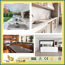 White/Grey Artificial Quartz Stone for Kitchen & Bathroom Countertop/Vanity Top/Slab/Tiles