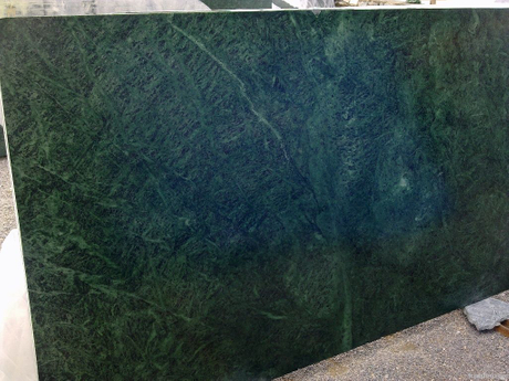 Big Flower Green Marble Slab for Wall and Floor Tile