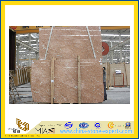 Rosalia Red Marble Slabs for Indoor Flooring (YQZ-MS)