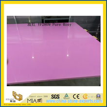 Pure Rosy Quartz Stone for Indoor Decoration