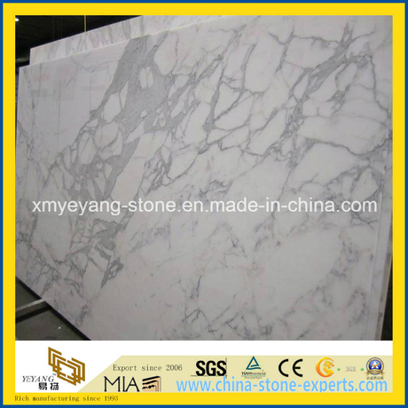 Bianco Statuario White / Snow White Marble Slab