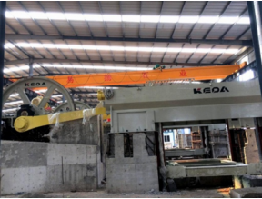 Gang Saw for Marble with Keda Stone Machine from YEYANG