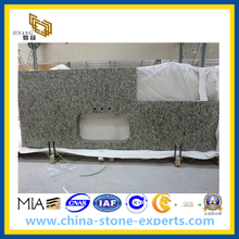Sesame Gold Granite Slab for Kitchen Countertop (YYL)