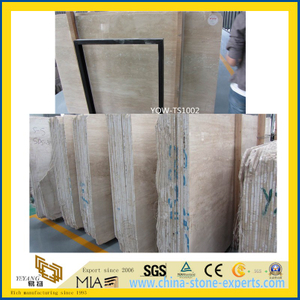 Roman Travertine Slab for Home Wall & Floor Tile or Countertops
