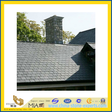 Black Natural Roof Slate Tile for Roofing (YQA-S1001)