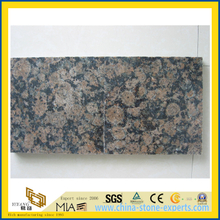 Polished Baltic Brown Granite Tiles for Floor