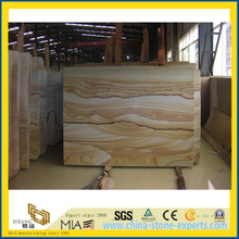 Yellow Landscape Sandstone for Wall Cladding, Flooring (YYT)