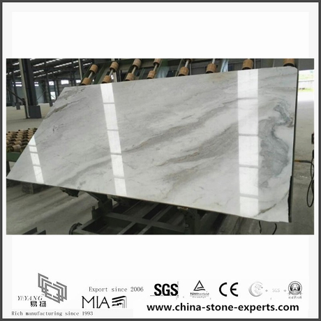 Beautiful New Arabescato Venato White Marble for Background (YQW-MSA060101)